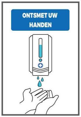 Paneel handen wassen