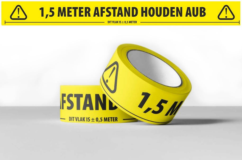 """Featured image for """"Aanbieding tape 1,5m afstand houden"""""""