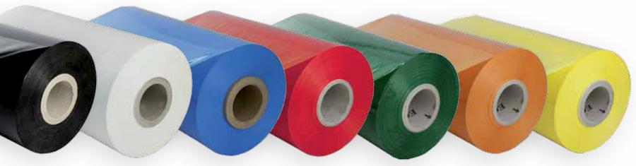Folies in verschillende kleuren