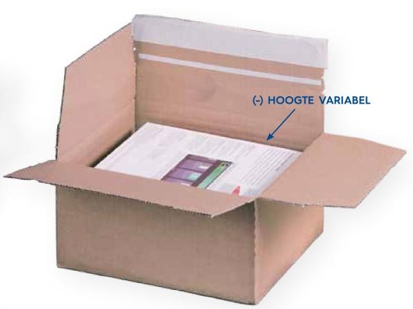 Kleine doosjes in verschillende formaten Rovapack